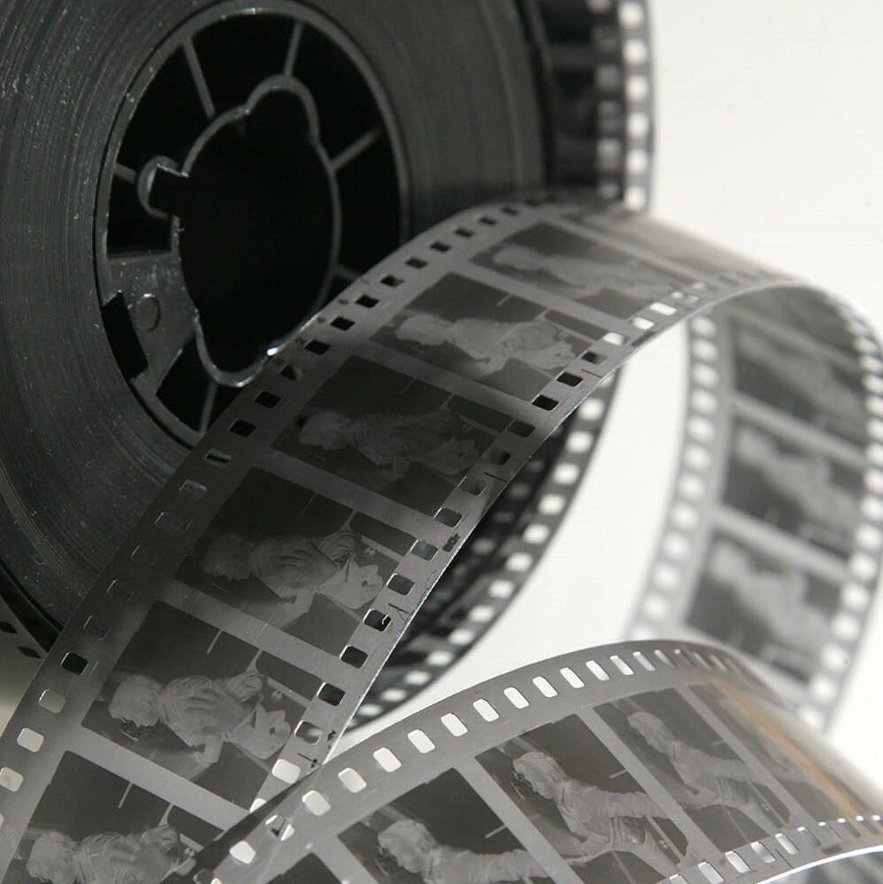 Illustration représentant une pellicule de film