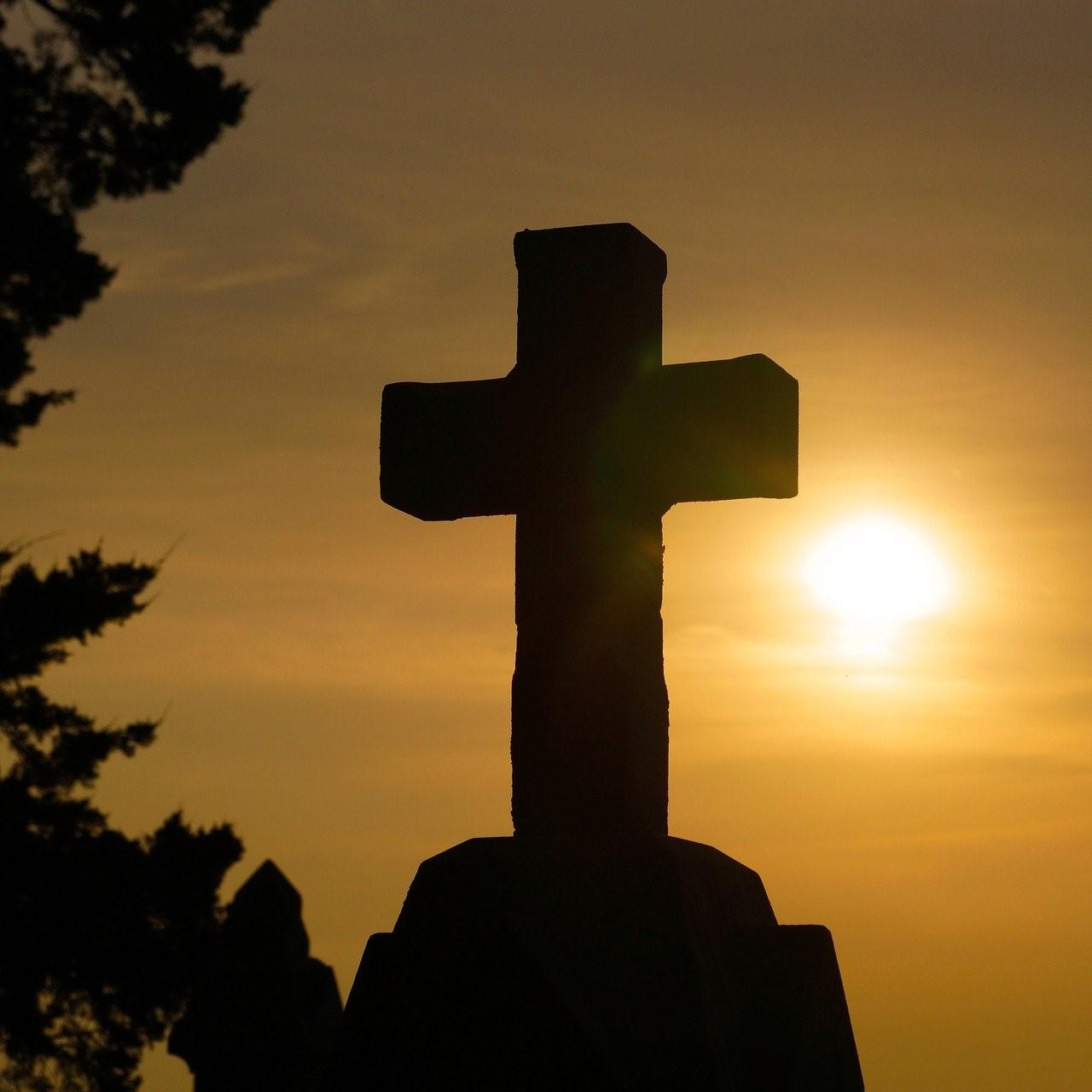 Illustration représentant une croix catholique