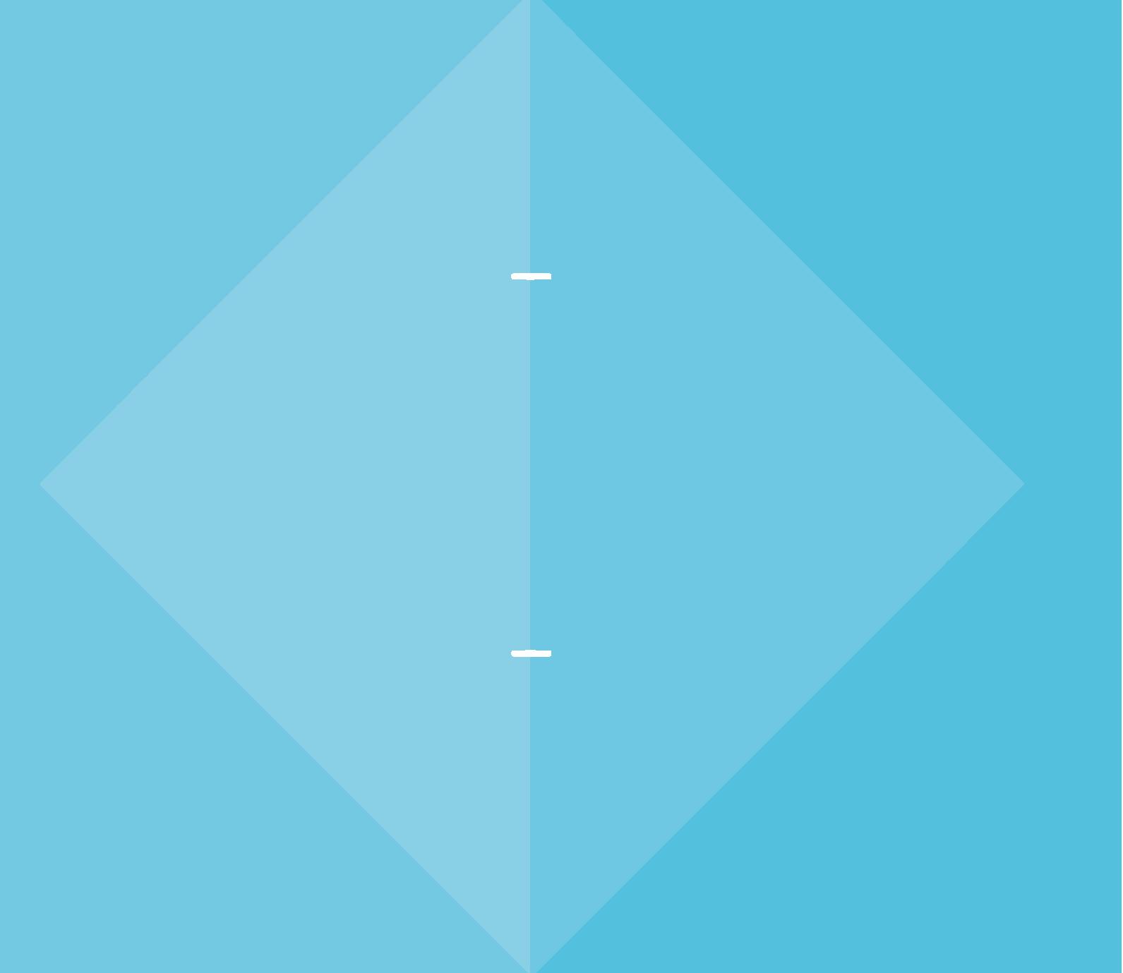 Illustrations de triangles bleus
