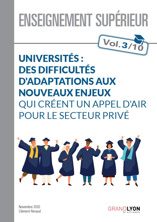 Couverture du document Universités : des difficultés d'adaptations aux nouveaux enjeux