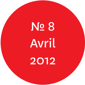 """Vue de l'écriteau """"N°8 Avril 2012"""""""