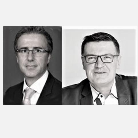 Portrait de Frédéric Droin et Thierry Mazoyer