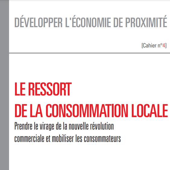 """Couverture de l'étude """"Le ressort de la consommation locale"""""""