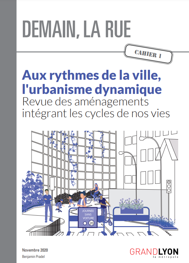 Couverture du document, illustrant une rue