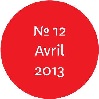 """Vue de l'écriteau """"N°12 Avril 2013"""""""