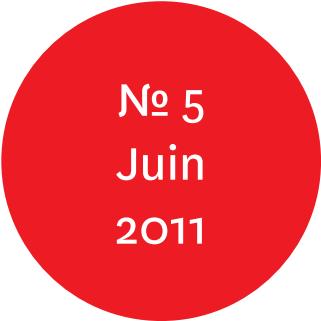 """Vue de l'écriteau """"N°5 Juin 2011"""""""