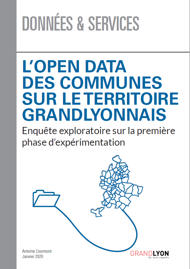 Couverture du document L'open data des communes sur le territoire grandlyonnais