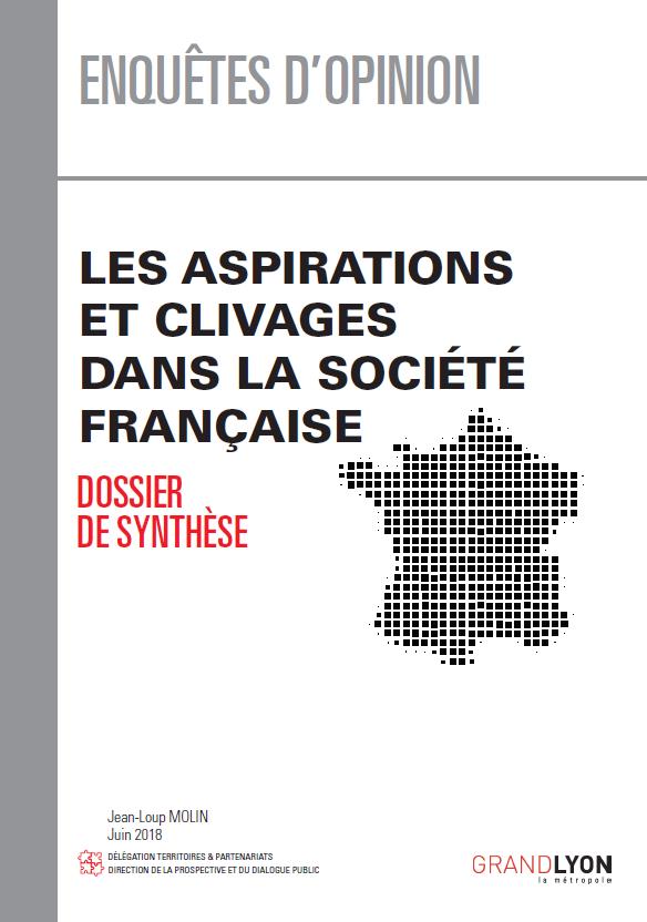 Couverture du document Aspirations et clivages dans la société française