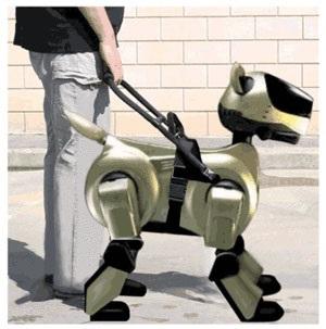 chien robot accompagnateur