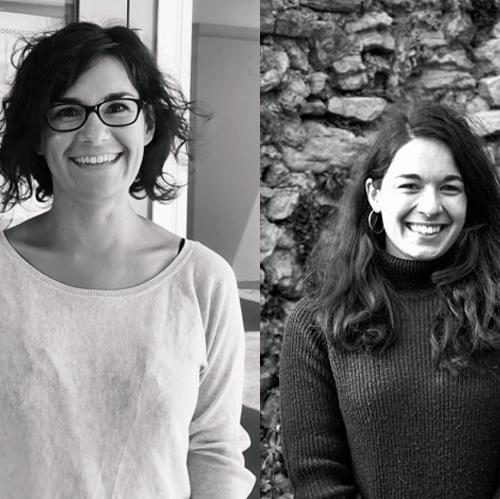 Portraits de Margot Giacinti et Fanny Lelong