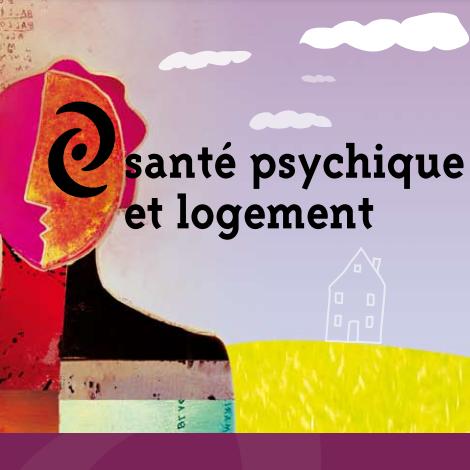 """Extrait de la couverture de l'étude """"Santé psychique et logement : guide pratique"""""""