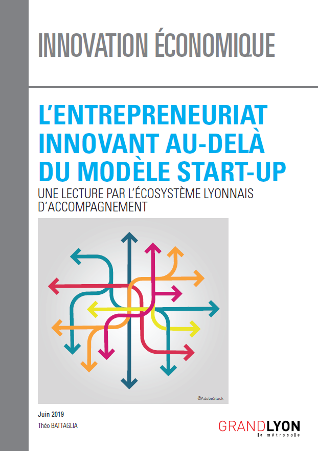 "Une du document ""l'entrepreneuriat innovant au-delà du modèle start-up"""