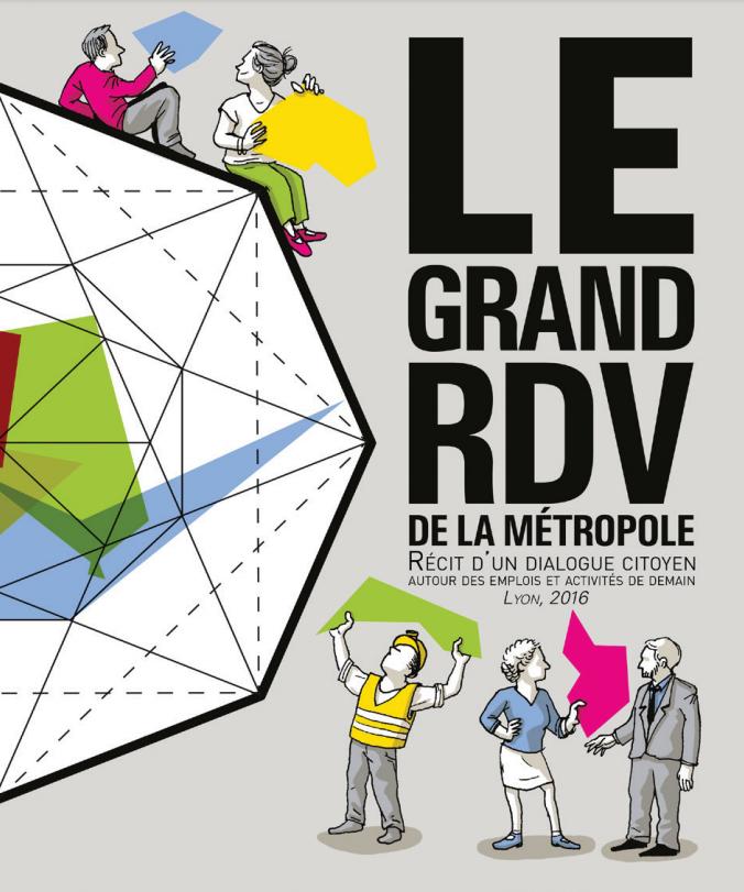 Couverture de la BD Le Grand RDV