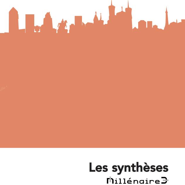 Illustration représentant la skyline de la ville de Lyn