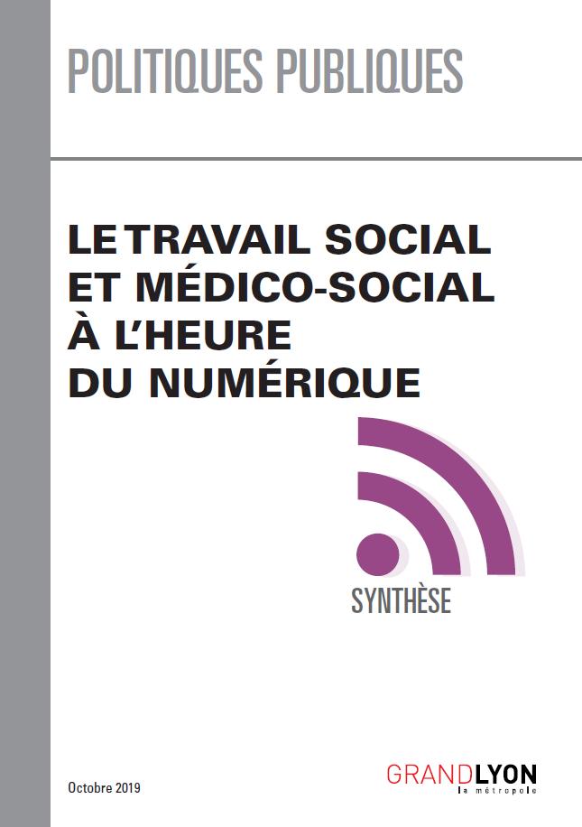 """Couverture du document """"Travail social et numérique"""""""