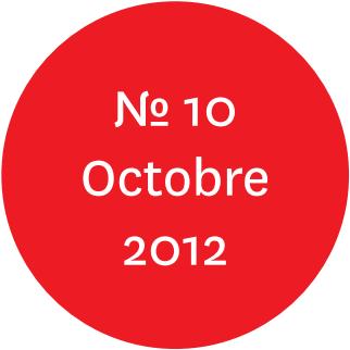"""Vue de l'écriteau """"N°10 Octobre 2012"""""""