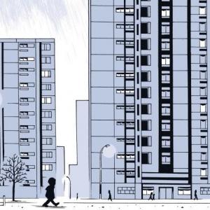 """Extrait de la bande dessinée """"En roue libre"""", scénarisée par Gilles Rochier et dessinée par Nicolas Moog, aux éditions Casterman"""