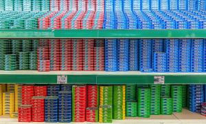 Supermarché à Pernambuco, Brésil
