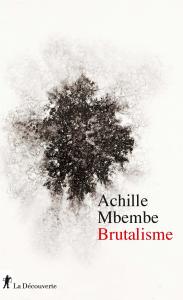 Couverture du livre d'Achille Mbembe