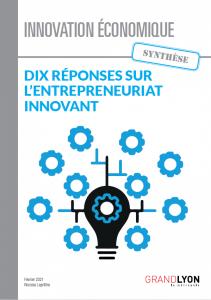 Couverture de Dix réponses sur l'entrepreneuriat innovant