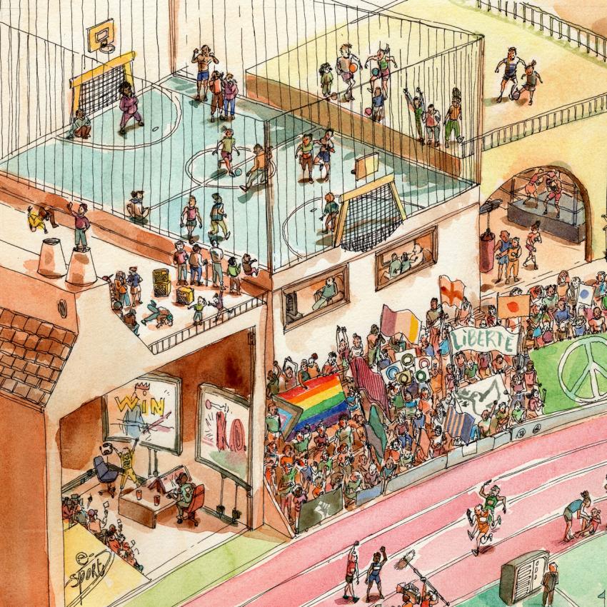Entre héritage et modernité, les enjeux olympiques