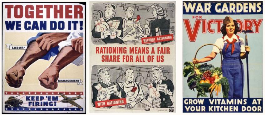 Affiches de propagande américaine