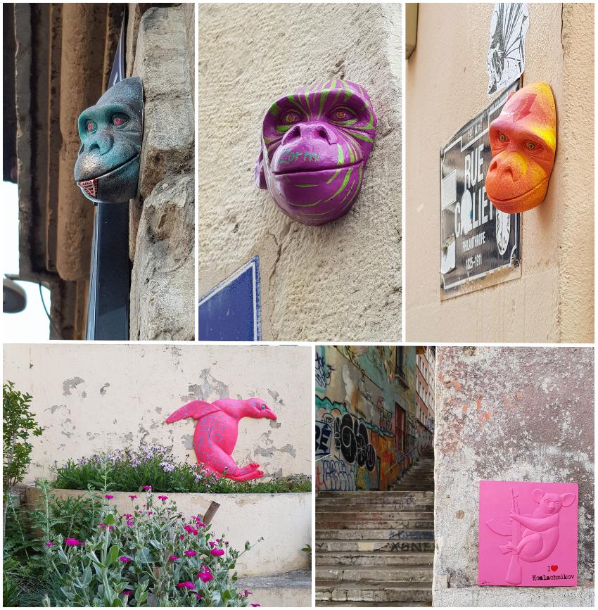 Zorm, moulages, Lyon 1er et Lyon 2, 2018-2019