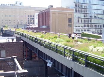Photo de la highline à New York City