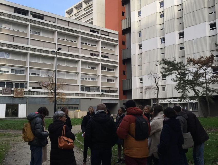 Visite artistique d'immeubles