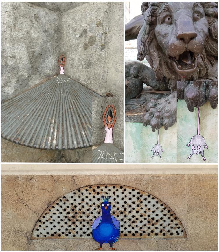 CAL, collages, Lyon 2e et 5e arrondissement de Lyon, 2018 et 2019