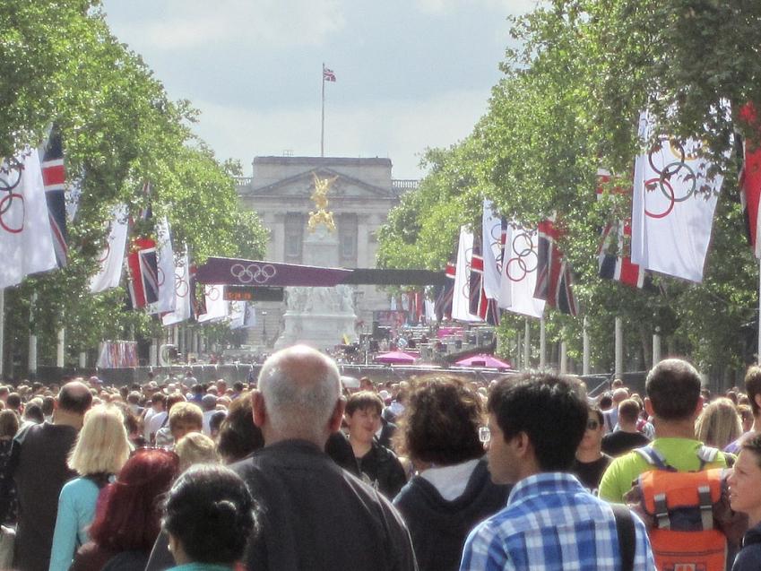 Parade à Londres pour les jeux olympiques de 2012