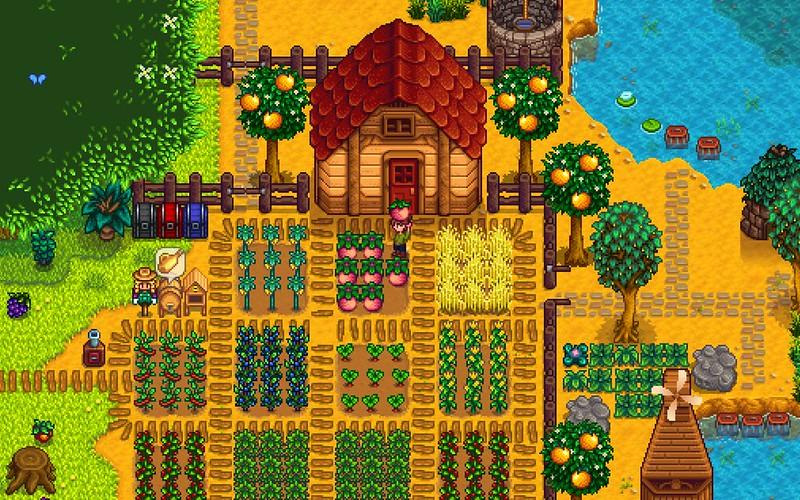 Utopie agricole contemporaine dans le jeu vidéo Stardew Valley (ConcernedApe)