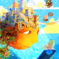 Illustration de Charlotte Rousselle (crayons de couleur, aquarelle et numérique)