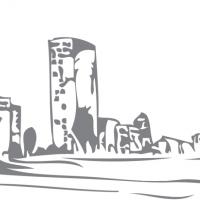 Illustration d'une tour d'immeuble