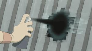 Le dessin animé japonais « Denno coil » propose une vision originale de « l'ombre informationnelle » des espaces urbains. Un possible avenir de la « ville hybride »