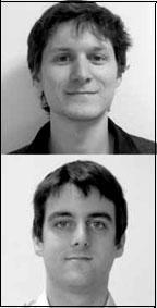 Benoît Granier, Nicolas Leprêtre, doctorants en Sciences politiques