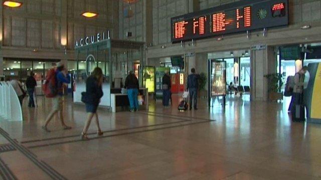 Gare d' Amiens