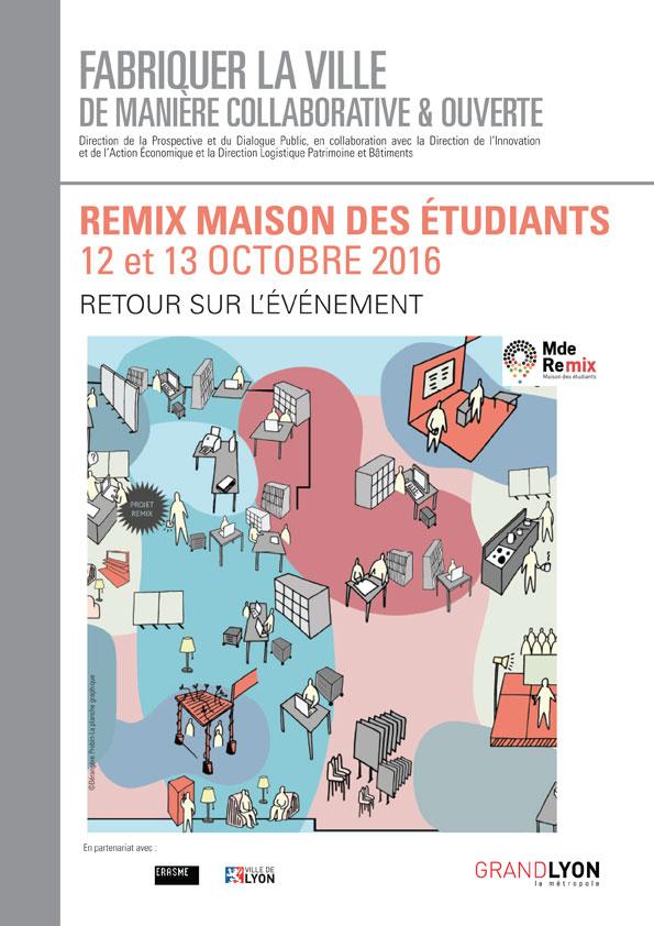Couverture de l'étude Fabriquer la ville de manière collaborative et ouverte - Remix Maison des étudiants : retour sur l'événement